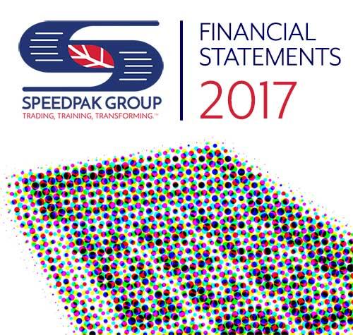 Speedpak Group's 2017 Financial Statements