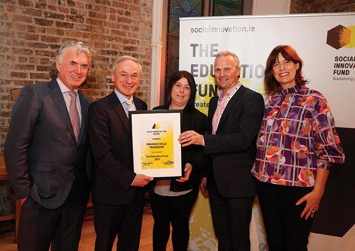 Speedpak Group wins Social Innovation Fund Ireland, Education Fund Award