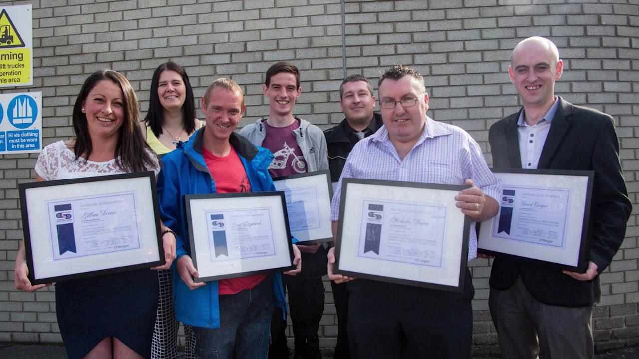 Speedpak Group Enhanced Skills Programme Awards Ceremony | September 2016